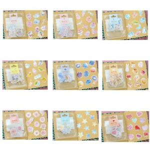 70pcs-DIY-Scrapbook-Stickers-Cartoon-Animals-Heart-PVC-Stickers-Book-Decor-Kzs