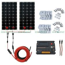 320W 2x 160W Mono Solar Panel & 20A CMG Battery Intelligent Controller for Car