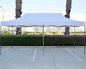 Image is loading Canopy-10x20-Commercial-Fair-Shelter-Car-Shelter-Wedding- & Canopy 10x20 Commercial Fair Shelter Car Shelter Wedding Pop Up ...