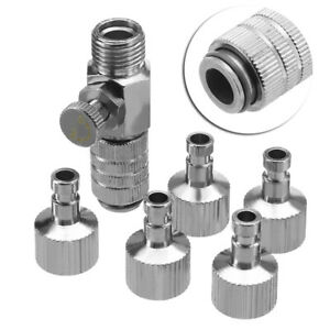 Airbrush-Quick-Release-Coupling-Disconnect-Adapter-1-8-034-Plugs-Fitting-Part-HS941