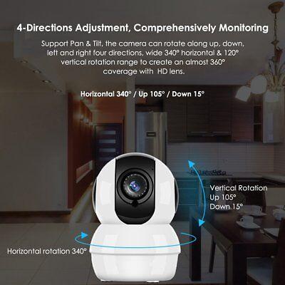 WIFI Wireless IP Camera 1080P CCTV Outdoor Security Waterproof IR Night Vision