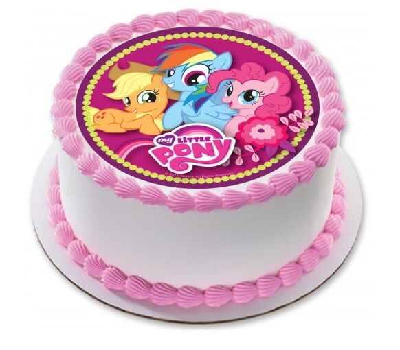 My Little Pony Edible Kids Birthday Party Cake Decoration Topper