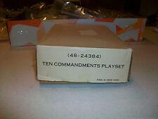THE TEN COMMANDMENTS MINIATURE PLAYSET BY LOUIS MARX TOY COMPANY