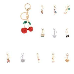 Alloy-Fashion-Flamingo-Rhinestone-Keyring-Bag-Hanging-Decor-Women-Keychain
