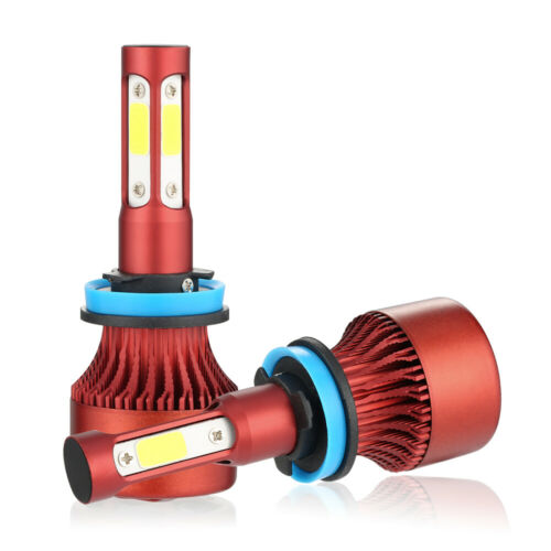 4Sides H4 H7 H11 H13 9005 9006 9007 LED Headlight Kit Hi//low Beam Fog Bulb 6000K