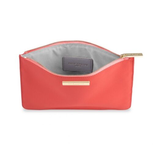 Perfect Pouch Katie Loxton FREE giftwrap /& bag Ladies coral Pebble Pouch