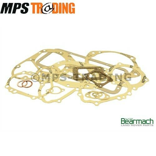 BR1772 - GEARBOX GASKET SET 2.25 ENGINES BEARMACH LAND ROVER SERIES 2 2A 3