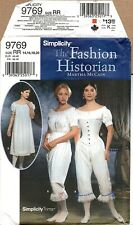 Authentic Civil War Undergarments Pattern Simplicity 9769 Sizes 14-20