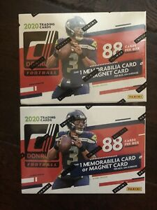 2020-Donruss-Football-NFL-Blaster-Box-BRAND-NEW-SEALED-Target-Exclusive-2-Boxes