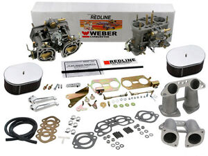 Details about Weber Carburetor Kit VW Bus, Type 2, Type 4, Porsche 914 Dual  40IDF weber kit