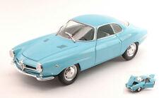 Alfa Romeo Giulietta SS (Sprint Speciale) 1967 Light Blue 1:24 Model EDITORIA