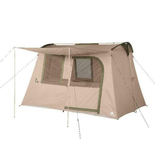 "78"" Center Height Fits 2 Queen Air Beds Ozark Trail 6-Person Flex Ridge Tent"