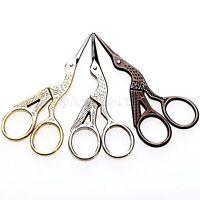 Needlework Trim Sew Tailor Stitch Embroidery Stork Scissors Craft Shear DIY Tool