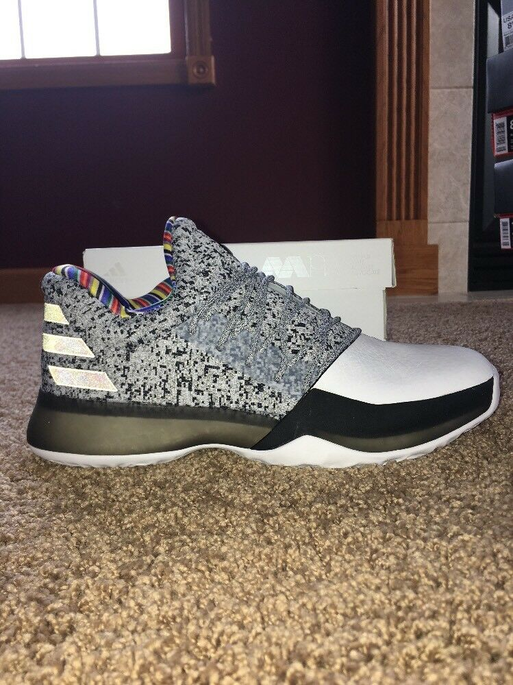 Adidas harden vol. 1 BHM size 9 BY3473 1975 pairs Arthur Ashe