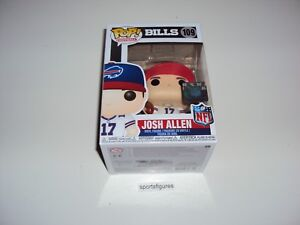 Vinyl Josh Allen Pop FunKo Free Shipping! NFL: Bills