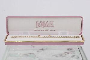 Costume Jojak Clear Austrian Crystals Earrings Amp Tennis