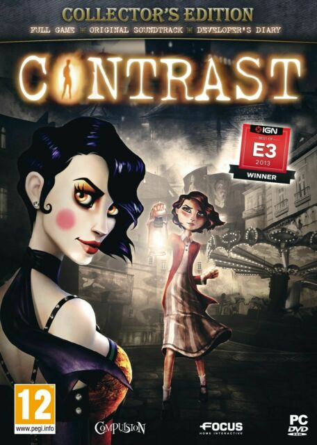 Contrast PC Game - Compulsion- AU Brand New Factory Sealed - E3 2013 WINNER