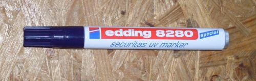 Geocaching Tools LED UV Taschenlampe 12 LED sw Spezial UV Edding 8280 Bundle