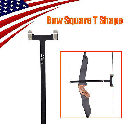 1X Bow Square Archery Ruler T Shape Compound Bow Recurve Bows Longbow Measuring