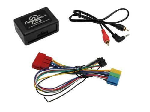 AUDI A2 A3 A4 A6 Tt CD Radio Estéreo Aux en Adaptador Adaptador De Interfaz CTVADX 001