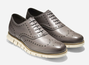 Zerogrand Wing Ox Leather Driver Shoes