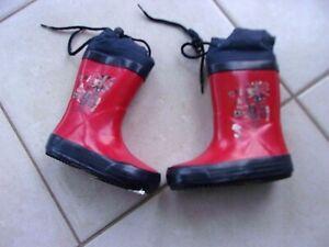 Détails sur paire de bottes pluie garcon NEUVE emballée ORCHESTRA pointure 20 (20A2150)