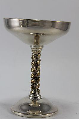 Topp Qualität Silber Auflage Shortdrink Aperitif Kelch England Likör
