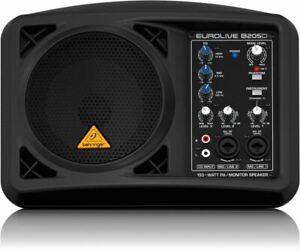 Behringer Eurolive B205d Ultra-compact 150-watt Pa/moniteur Système De Haut-parleur-afficher Le Titre D'origine Vente D'éTé SpéCiale