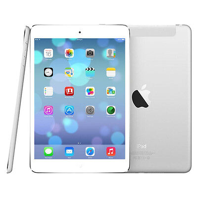 White /& Silver GRADE A Apple iPad mini 1st Generation 32GB Wi-Fi 7.9in R