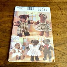 Baby Bear Craft Vintage Vogue Classic Doll Craft Designs Vogue 621  9571 Uncut Factory Folded Vintage Linda Carr Designed Pattern