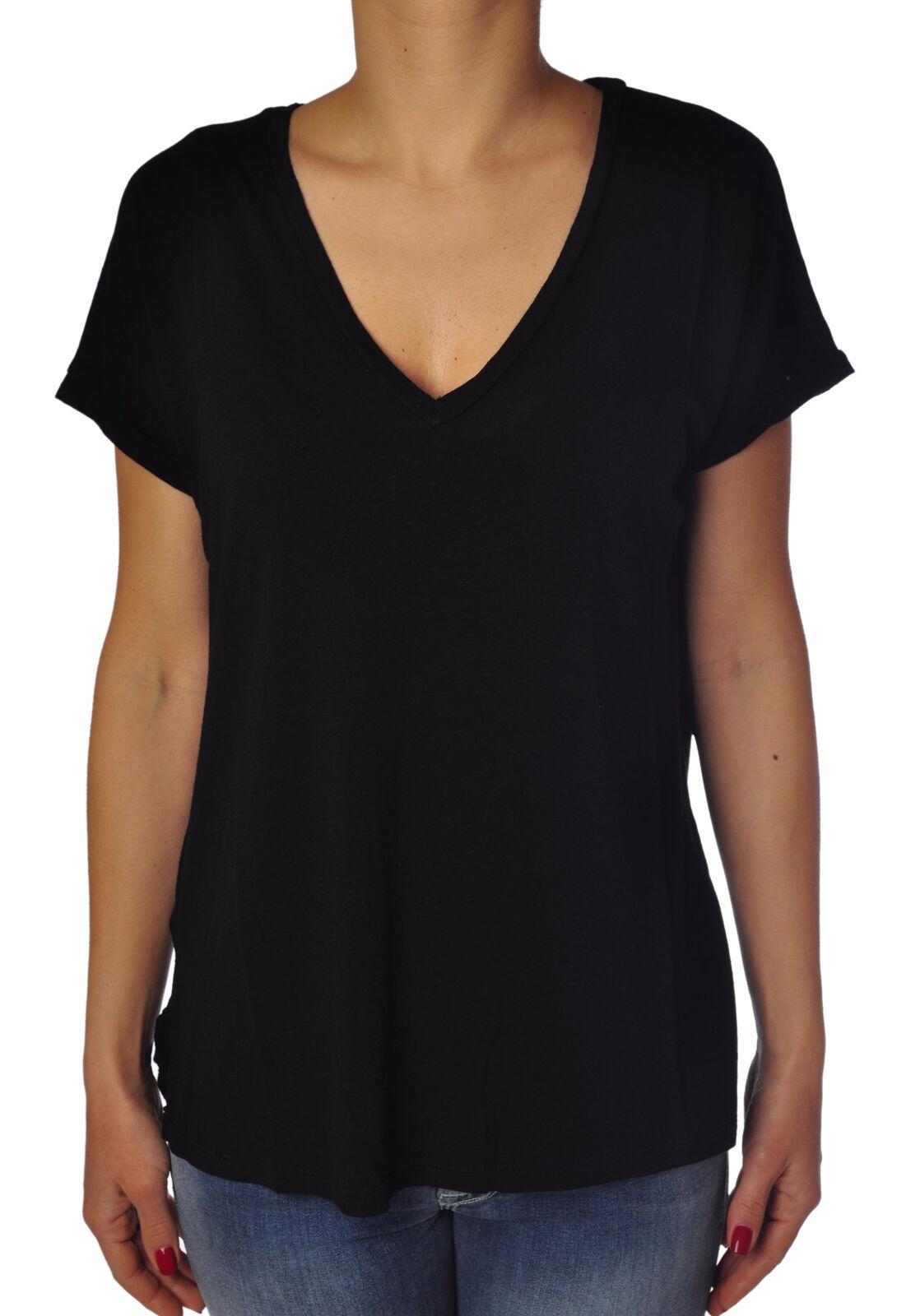 Soallure - Topwear-T-shirts - woman - schwarz - 773717C184128