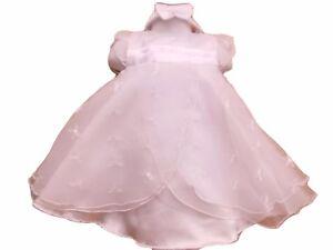 neuf-avec-etiquette-bebe-filles-blanc-aspect-satin-et-voile-robe-de-fete-amp
