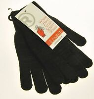 Radio Shack Whole Hand Touch Screen Gloves Womens Black S/m Small Medium