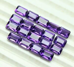 NATURAL-PURPLE-AMETHYST-7X5-MM-OCTAGON-CUT-FACETED-LOOSE-AAA-GEMSTONE-LOT