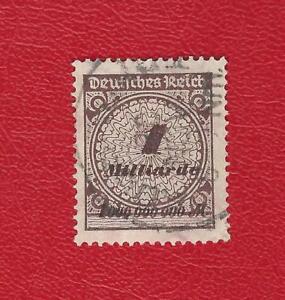 DEUTSCHES-REICH-870-MI-NR-325-A-Pa-GESTEMPELT-N-GEPRUFT-INFLA-Weinbach