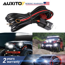 Remote Control Wiring Harness Kit Strobe Switch Relay Led Light Bar Up To 180w