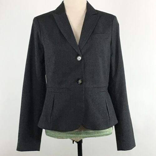 Business Grigio Sz Nwt Womens 465369901014 Med Heusen imbottita Stretch Van Studio Blazer Carriera WZ80fwxCq
