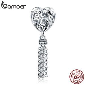 Bamoer-New-European-S925-Sterling-Silver-charm-Elegant-Mind-For-Bracelet-Jewelry