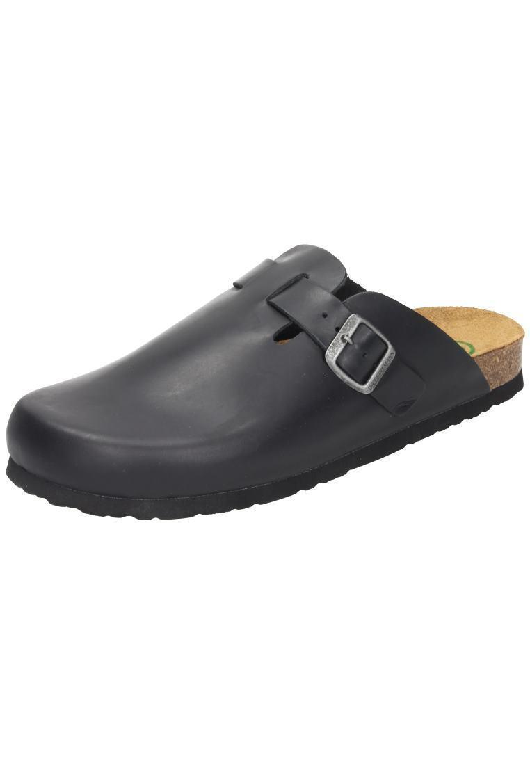 El Dr. brinkmann 600389-1 sandalias de cuero Clogs casa zapatos negro Gr. 36-50 neu6