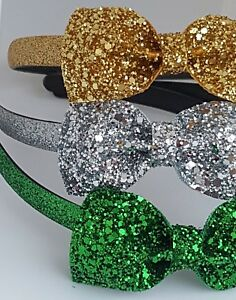 Glitter-Sparkling-Headband-Girls-039-Alice-band
