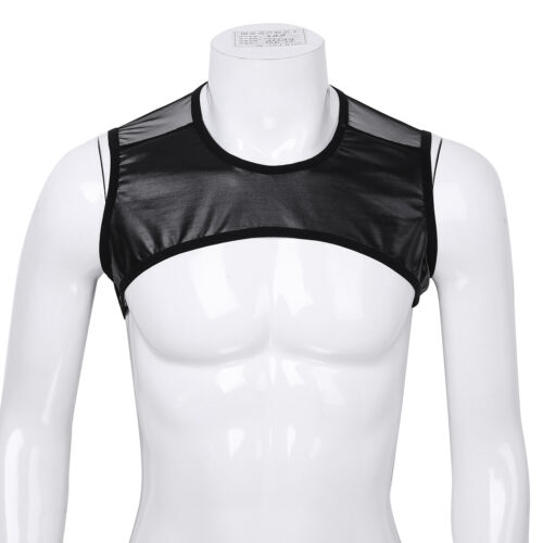 Gym Men/'s Muscle Sleeveless Mesh Tank Top Tee Shirt Bodybuilding Fitness Vest