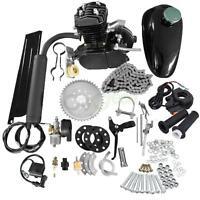 80cc Bike Bicycle Motorized 2-Stroke Petrol Gas Motor Engine Kit Set (Black)