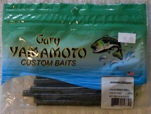 Gary-Yamamoto-5-034-California-Roll-Watermelon-Black-Flake