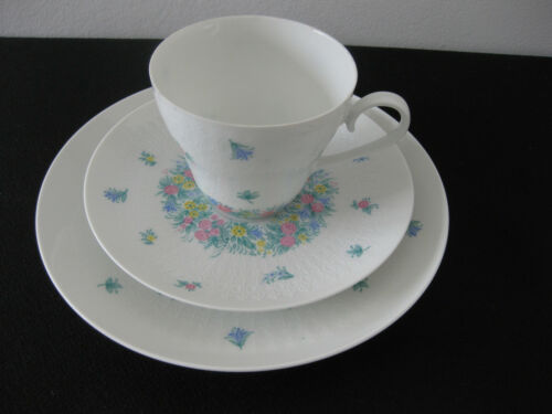 Rosenthal Romanze Bunt Kaffeegedeck kaffeetasse mit Untere Kuchenteller