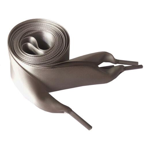 4cm flache Schnürsenkel Satin Schuhsenkel Ribbon Flachsenkel Sneaker 100-150cm