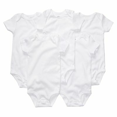 NEW Carter's Neutral 4 or 5 Pack Bodysuits Newborn 3 6 9 12 Months Boy or Girl