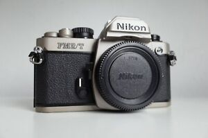 ottimo-Nikon-FM2-T-SLR-Body-Raro-TITANIO-Film-testato-FM3A-F3