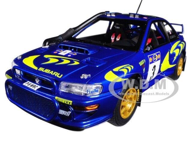 Subaru Impreza WRC 2018 3 Rally Safari McRaeMalta molida  de Autoart 89792