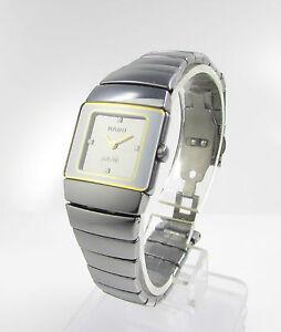 Rado-DiaStar-Sintra-High-Tech-Ceramics-Diamantblatt-Platiniumserie-Ladymodell