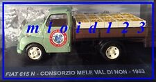 1/43 - Fiat 615 N : Consorzio Mele Val di Non - 1953 - Die-cast